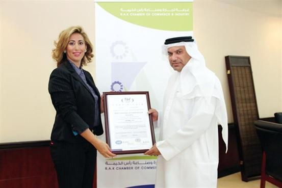 Ras Al Khaimah Chamber receives ISO certification