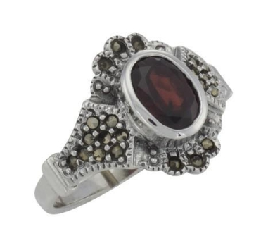 What Is A Sterling Silver Marcasite Ring002