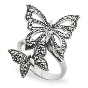 Most Popular Types Of Sterling Silver Marcasite Rings 01