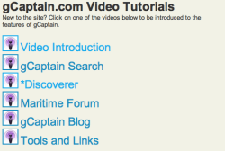 gCaptain video tutorials