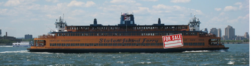 Staten Island Ferry For Sale