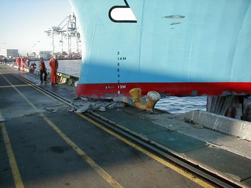 Maersk Tampa Docking Incident
