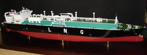 LNG Tanker - Ship Model