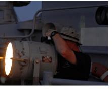 Night Watch On Ship
