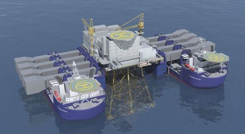 Seametric's Twin Marine Lifter - Heavy Lift Ship