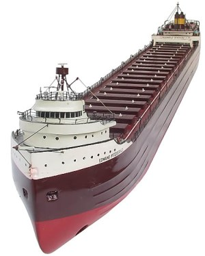 Model of the Edmund Fitzgerald