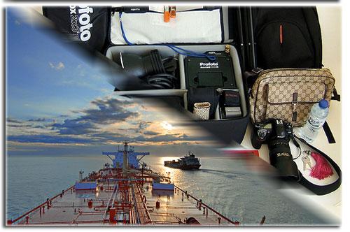 Travel Gear Aboard Ship