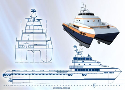 MV Seacor Cheetah - Design Plans