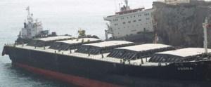 MV Fedra Aground Near Gibraltar by Shipspotter Fernand