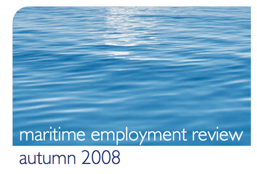 Faststream Employment Review - Shipping Industry - 2008 / 2009