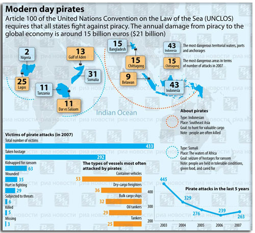 2008 Piracy Infographic