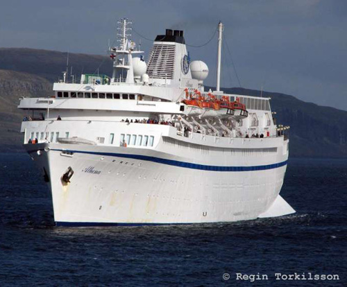 Cruise Ship Athena - Photo By Shipspotter Regin Torkilson