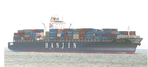 hanjin boxship