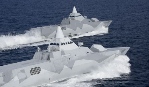 Visby Class Swedish Stealth Ships