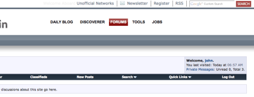 google powered search bar