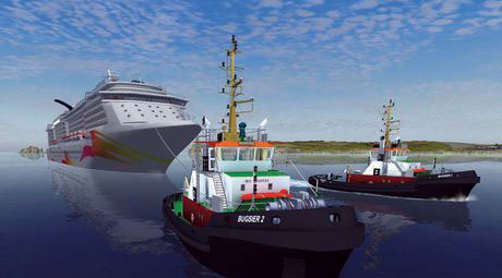 Ship Simulator - Google Earth