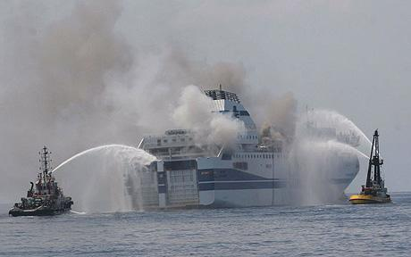 vincenzo florio ferry fire