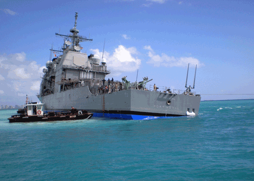 uss-port-royal grounding in hawaii
