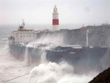 fedra aground
