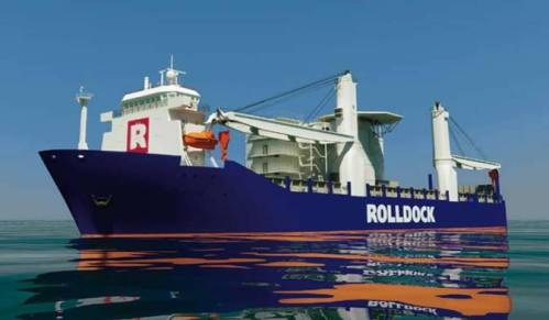 Rolldock Heavylift Ship