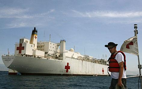 USNS Comfort In Haiti