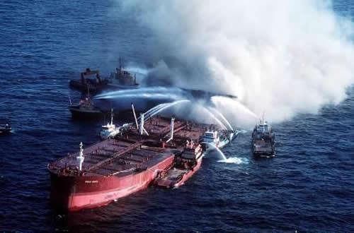 Megaborg Oil Spill