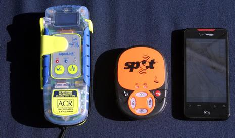 ACR AquaLink View PLB and SPOT