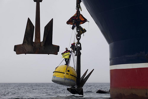 Greenpeace Anchor Fouling Pod