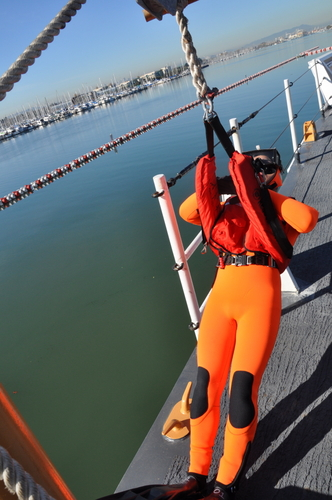 USCG Cutter Rescue Swimmer