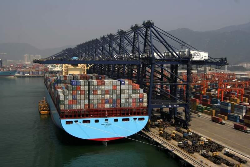 The Emma Maersk