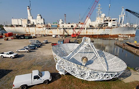Spy Ship Dismatled