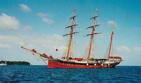 Tall Ship Alvei