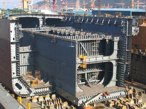 Korean Shipyard ULCC