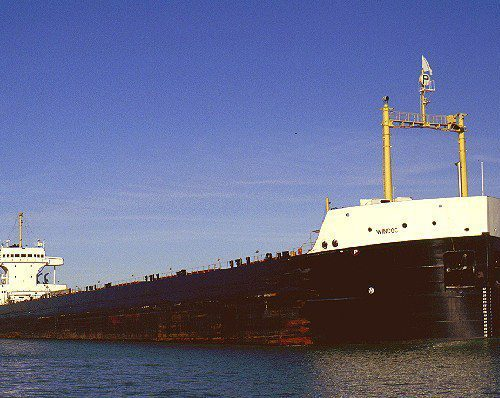 Bulk Carrier Windoc Prior To Collision and Fire