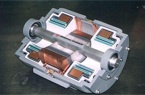 general atomics hybrid ship engine
