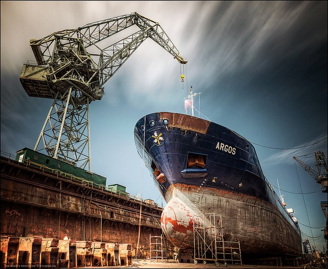 15 Incredible Shipyard Photos Gcaptain