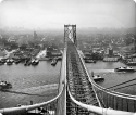 History in HD: Lg Format Glass Negs of Ships & Bridges