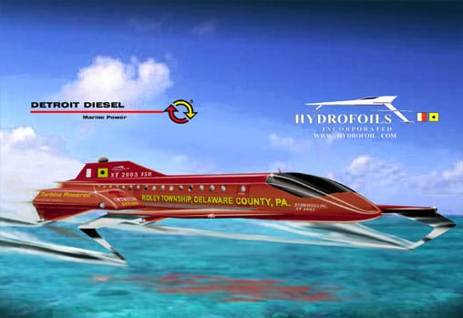 unlimited hydrofoil