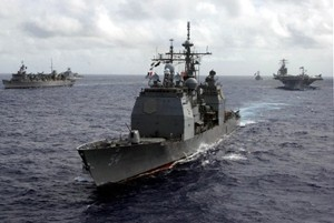 uss antietam guided missile cruiser us navy