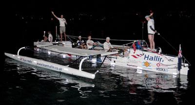Hallin Marine Rowing Team