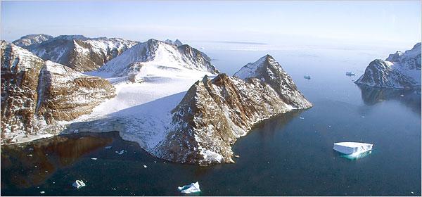 greenland jeff shea fjord landscape