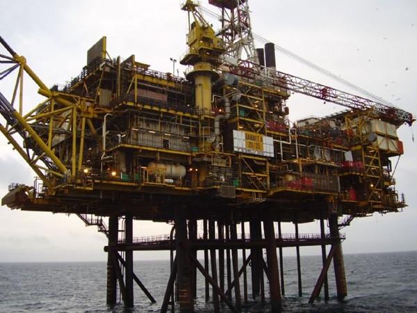 Gannet Alpha Platform oil spill