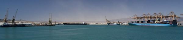 Port of Salalah oman minah raysut