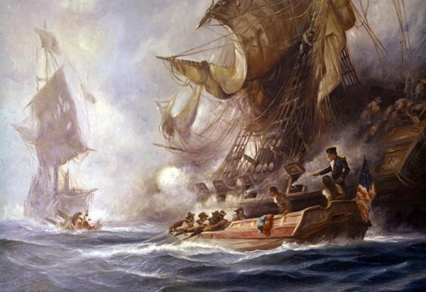 USS Enterprise Tripolitan Corsair Tripoli barbary war painting