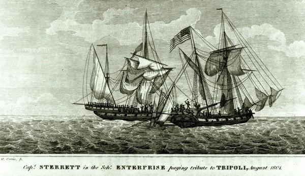 USS Enterprise Captain Andrew Sterrett Tripoli