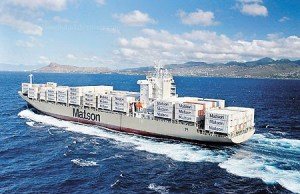 matson container ship