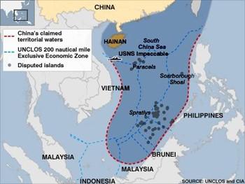 China chinese claim to south china sea territorial seas