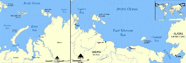Siberian Sea russia russian arctic