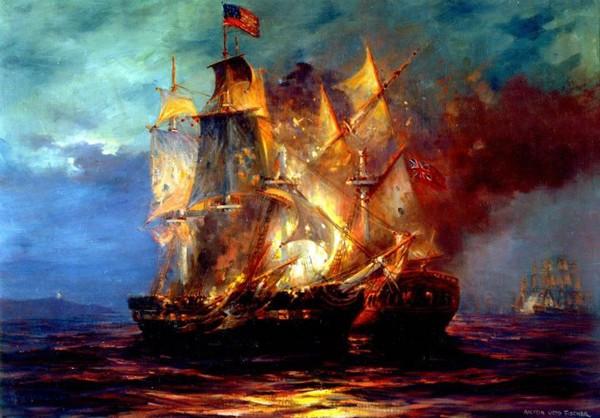 Serapis vs Bonhomme Richard John Paul Jones navy history