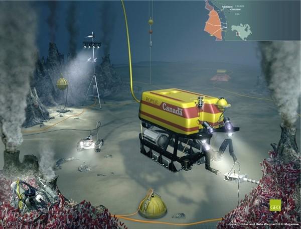 Neptune Canada subsea installation network ROV